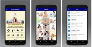 Vorschau Die Android App Kinderwunsch vom Kinderwunschnetz.de