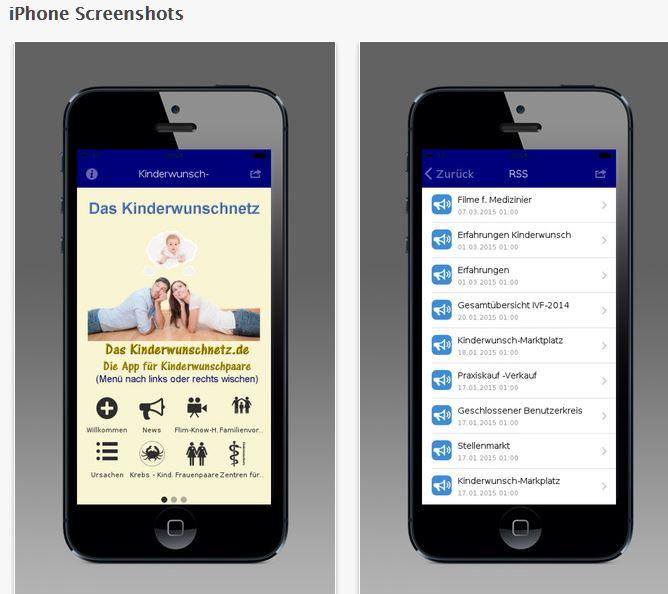kinderwunschnetz app iphone